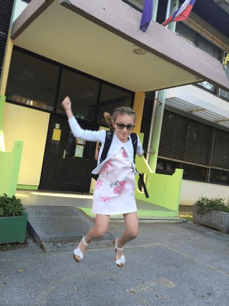 Начало школьного учебного года в Словении