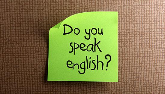 Набор на годовые курсы английского языка